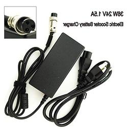 36W 24V 1.5A Electric Scooter Battery Charger for Razor E100