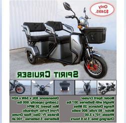 #1 electric trike Spirit Cruiser DOT Street Legal Motorcycle
