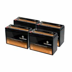 12V 10.5AH SLA Battery replaces REC10-12 ES10-12S PSH-12100F
