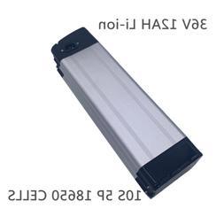 12AH 36V Li-ion Batteries Case Charger BMS Rechargeable Elec