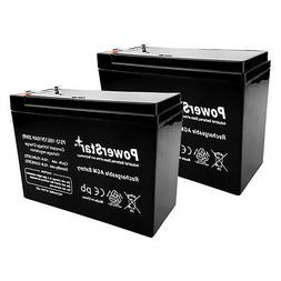 12V 10AH 2 Pack - HD SLA Battery replaces Electric Scooter S