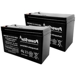 2x 12V 7.5ah Battery Replace 9Ah SLA Battery for Electric Sc