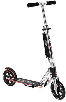 HUDORA 14724 Adult Folding Kick Scooter- 2 Big PU Wheels 205