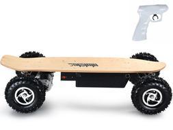 MotoTec 1600w Dirt Electric Skateboard DUAL MOTOR Powered EV