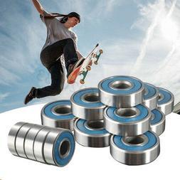 16PCS ABEC-9 Frictionless Skateboard Roller Skate Wheels Sco