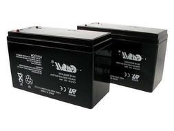 cASIL 2 Pack - 12V 7AH BATTERY FOR RAZOR E200 & E300S ELECTR