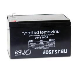 2 PACK UPG UB12120 F1 12V 12Ah Battery for GoPet Electric Sc