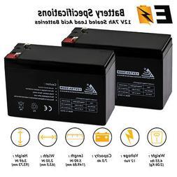 2 Pack 12V 7AH Battery RAZOR Scooter ES300 E200 E300 Bella B