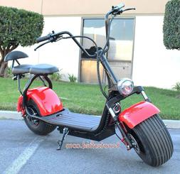 2 Seater 2000w Electric Scooter 18.5 Fat Tires Scooterfied.c