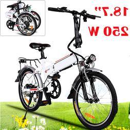 20'' Folding 350W Electric Mountain Bicycle E Bike Scooter 3