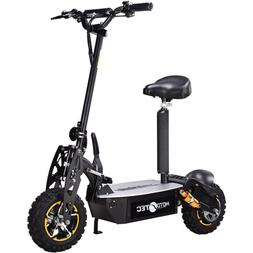 MotoTec 2000w 48v Electric Scooter - Black - Powerboard -  M