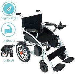 2019 UPDATED EElectric Wheelchair Foldable Electric Power Wh