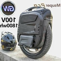 2020 Hotest Gotway Msuper X Pro 100V/1800wh electric unicycl