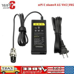 Battery Charger For Razor Electric Scooter E100 E300 E125 E1