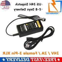 24V Electric Scooter Battery Charger for eZip 4.0 400 500 75