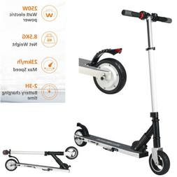 250w folding electric scooter adult stand two