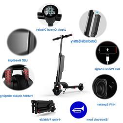 250W Portable/Foldable E-Scooter,Ultra-Lightweight Adult Ele