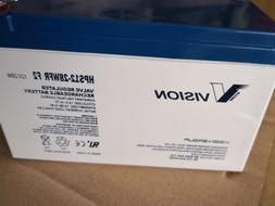 2x pack 12v 7ah f2 sla battery