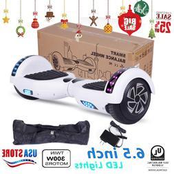 "300W Dual Motors Smart Hoverboard 6.5"" Two-Wheel Self Balanc"