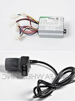 350 W 24 V Speed Control box w half throttle f electric scoo