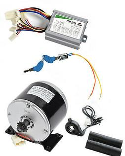 350W 36V DC electric motor 1016 kit w Speed controller+Thumb