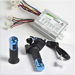 350W 36V DC electric motor Speed Controller box+Blue Throttl