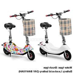 350W Brush Motor Mini Bike Foldable Ebike <font><b>Adult</b>