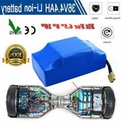 "36V 4.4Ah 4400mah  Li-Ion Battery For 6.5/7/8""  Scooter Elec"