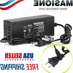 42V 2A Battery Charger AC Adapter Cord For Electric Scooter