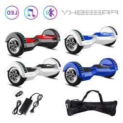"6.5"" 8"" Hoverboard Self Balancing Electric Scooters Bluetoot"