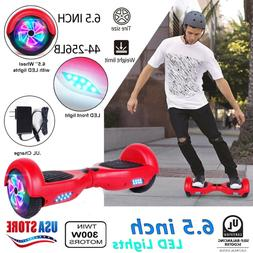 "6.5"" All terrain Razor Hoverboard Chrome Electric Self Balan"