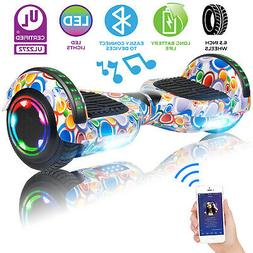 6 5 all terrain xtremepowerus hoverboard chrome