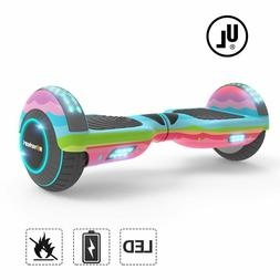 "Megawheels 6.5"" Bluetooth Hover Board PINK Electric Self Bal"
