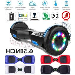 """6.5"""" BLUETOOTH LED ELECTRIC HOVER BOARD SELF BALANCING SCOOT"""