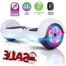 6 5 hovarboard electric balancing scooter led