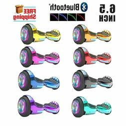 6.5'' Hoverboard Bluetooth Speaker LED STAR FLASHING WHEELS