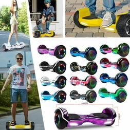 "6.5"" Hoverboard Electric Self Balancing Scooter LED lights"