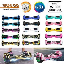 """6.5"""" Hoverboard LED Sidelights Electric Self Balance Scoot"""