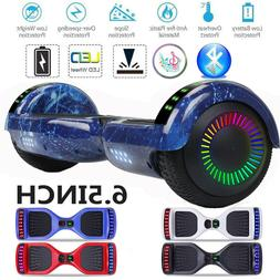 """6.5"""" Hoverboard Self Balance Electric Scooter Bluetooth LED"""