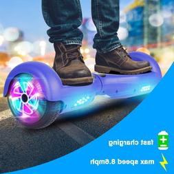 "6.5"" LED Two-Wheel Self Hoverboard Balancing Scooter UL 2272"