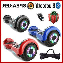 "6.5"" LED Wheels Hoverheart Hoover boards Electric Self Balan"