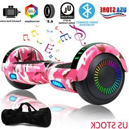 """6.5"""" Off Road Hooverboard Electric Balancing Scooter LED Sid"""