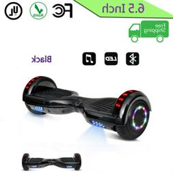 6 5 skateboard electric self balancing led
