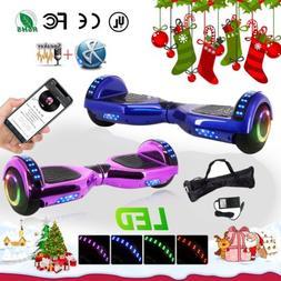 "6.5""Sport Self Balancing Electric Bluetooth skateboard Scoot"