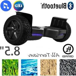 """8.5""""  Off-Road Bluetooth Hoverboard Self Balancing Electric"""