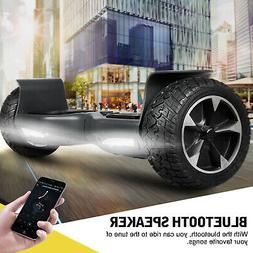 """8.5"""" Off Road Bluetooth Hoverboard Self-Balancing Scooter Ba"""