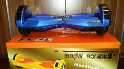 "8"" Hoverboard for kids Two Wheel Self Balancing Scooter Blue"