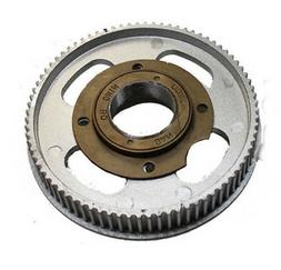 80 Tooth Drive Gear Belt Cog with Freewheel for electric sco