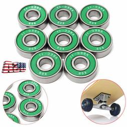 8X ABEC-11 608 RS Bearing For Scooter Skate Skateboard Inlin