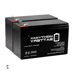 Mighty Max Battery 12V 9AH for Razor e200 / e200s / e225 / e